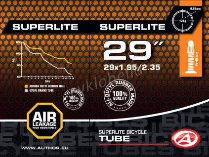 "Duše AT-MTB-29"" SuperLite FV40 29x1.95/2.35  (černá)"