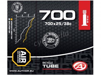 Duše AT-CROSS-700C AV40 700x25/38C (černá)