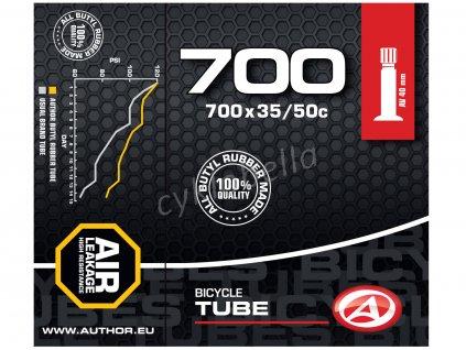 Duše AT-CROSS-700C Wide AV40 700x35/50C (černá)