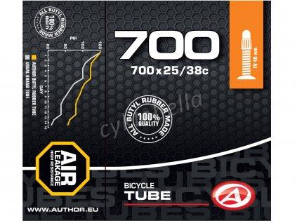 Duše AT-CROSS-700C FV40 700x25/38C (černá)