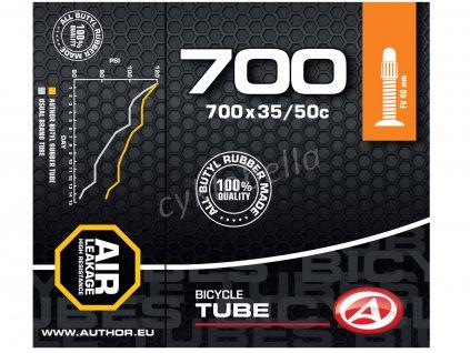 Duše AT-CROSS-700C Wide FV40 700x35/50C (černá)