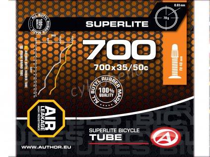Duše AT-CROSS-700C SuperLite FV40 700x35/50C (černá)