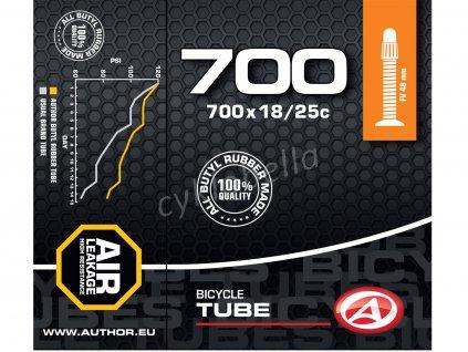 Duše AT-ROAD-700C FV48 700x18/25C (černá)