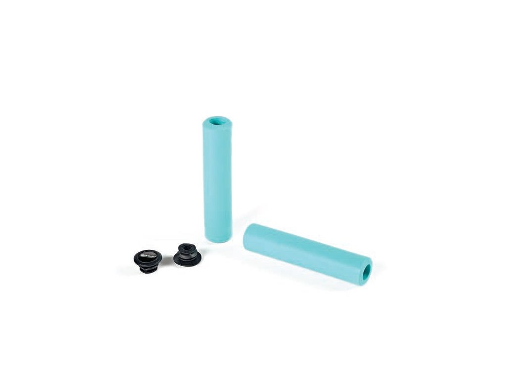 GRIPS BIANCHI MTB SILICONE CK16 (COPPIA)