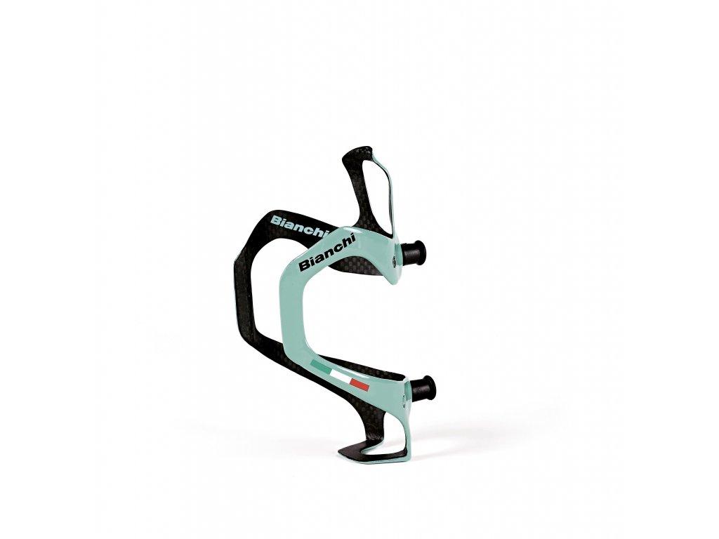 Košík Bianchi carbon multi-mount - celeste