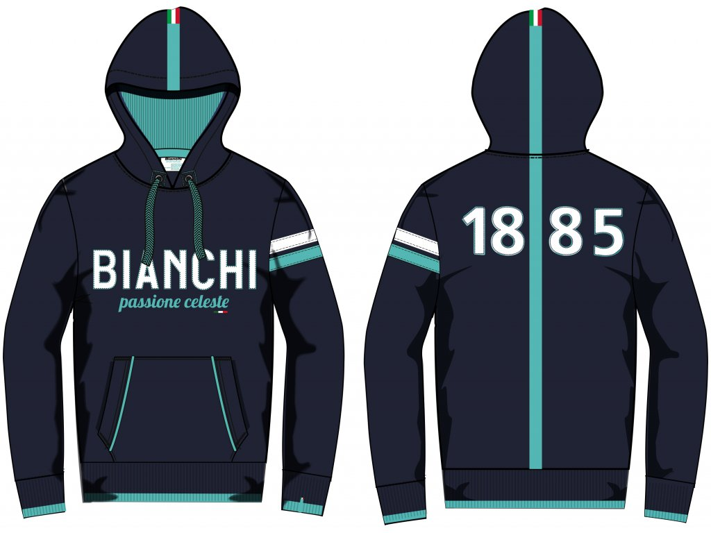 Bianchi Hoodie 1885 BN mikina