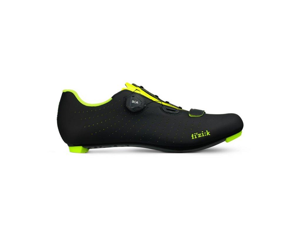 FIZIK R5 Overcurve-black/yellow fluo