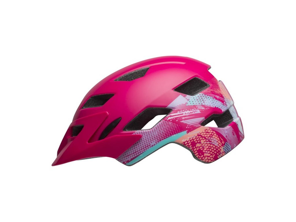 Juniorská helma BELL Sidetrack Youth Mat Berry