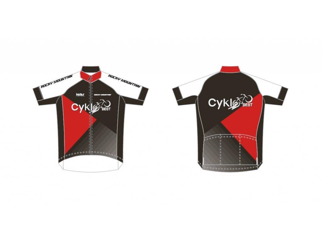 Pánský dres Cyklobest NEW - edice Rocky Mountain