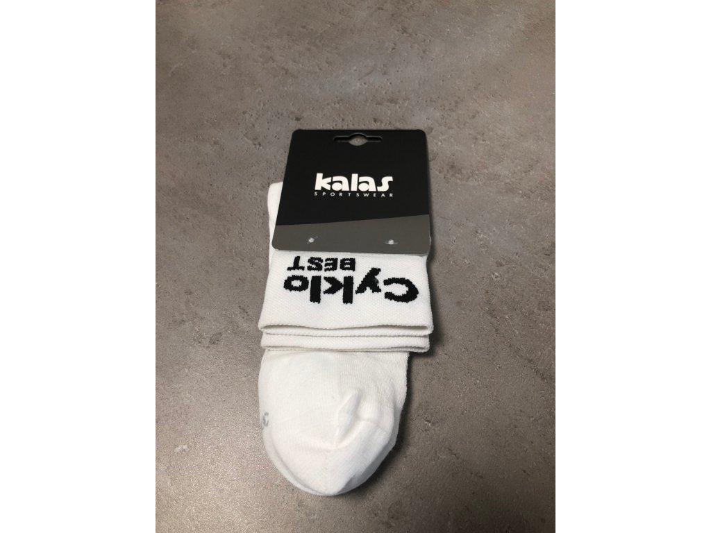 Ponožky CYKLO best - bílé