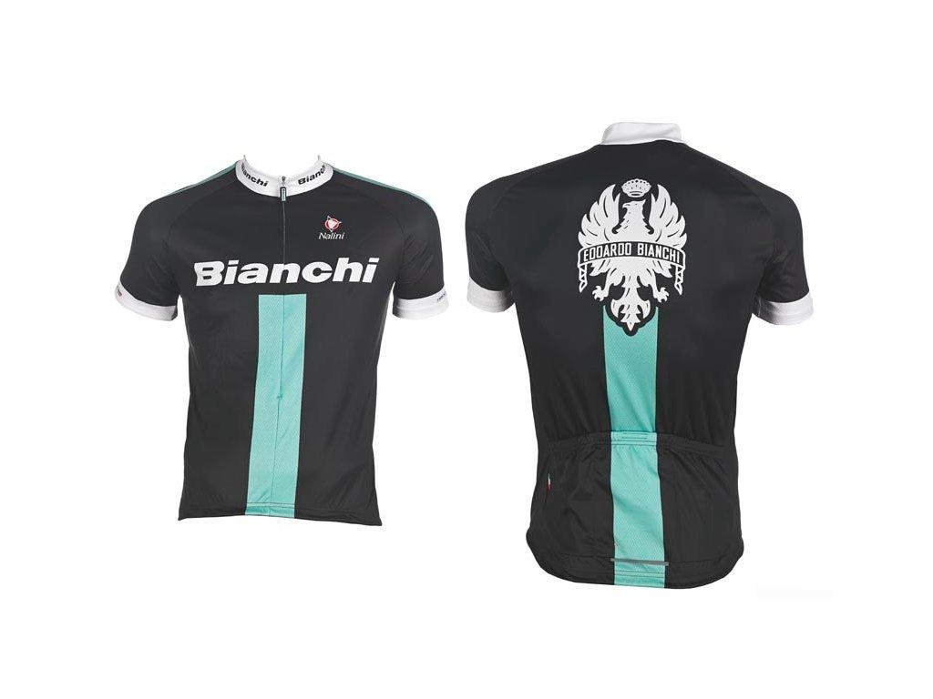 Bianchi Reparto Corse Dres - černý