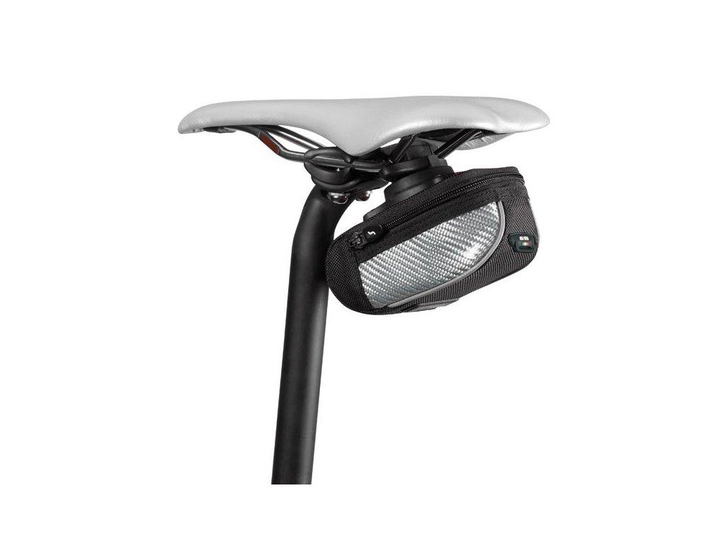 """Brašnička SCICON """"COMPACT 430"""" black/white carbon-NEW Roller 2.0"""