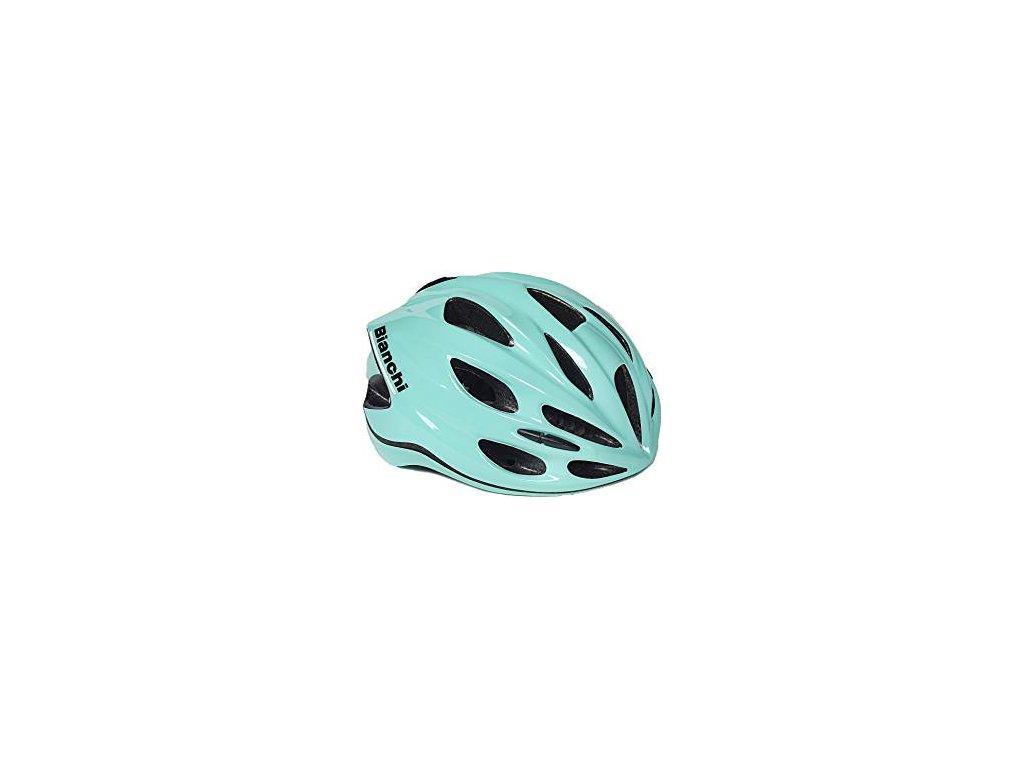 Cyklistická helma Bianchi SHAKE - celeste