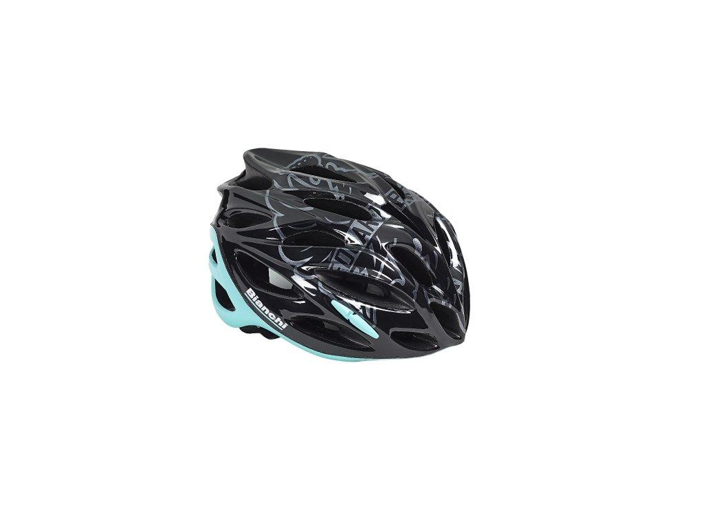 Cyklistická helma Bianchi SHOT - black