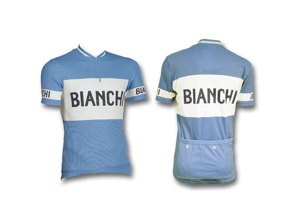 Dres Bianchi s/s Jersey Classic