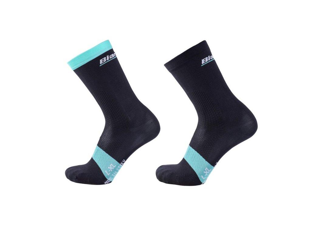 Ponožky Bianchi Reparto Corse Crew - black