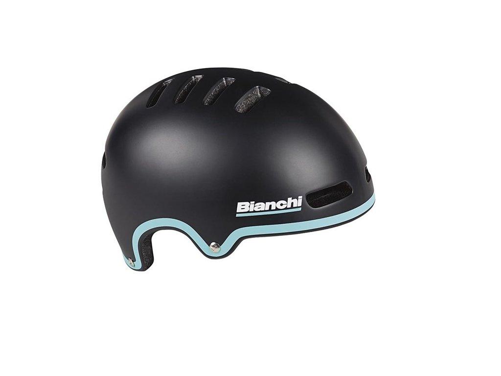 Přilba Bianchi Armor 2020 - černá matná