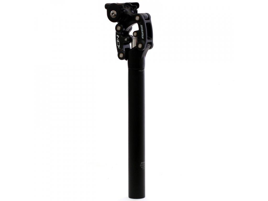 Sedlovka odpružená 30,9/350mm Suntour NCX černá