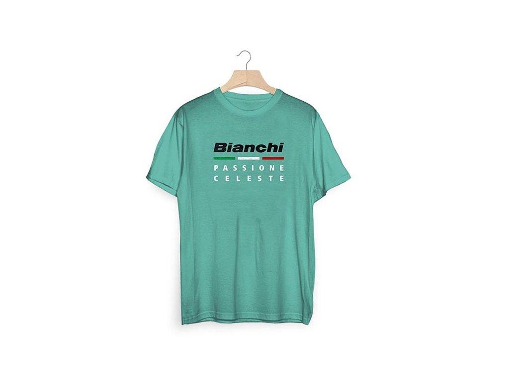 Tričko Bianchi Passione Celeste