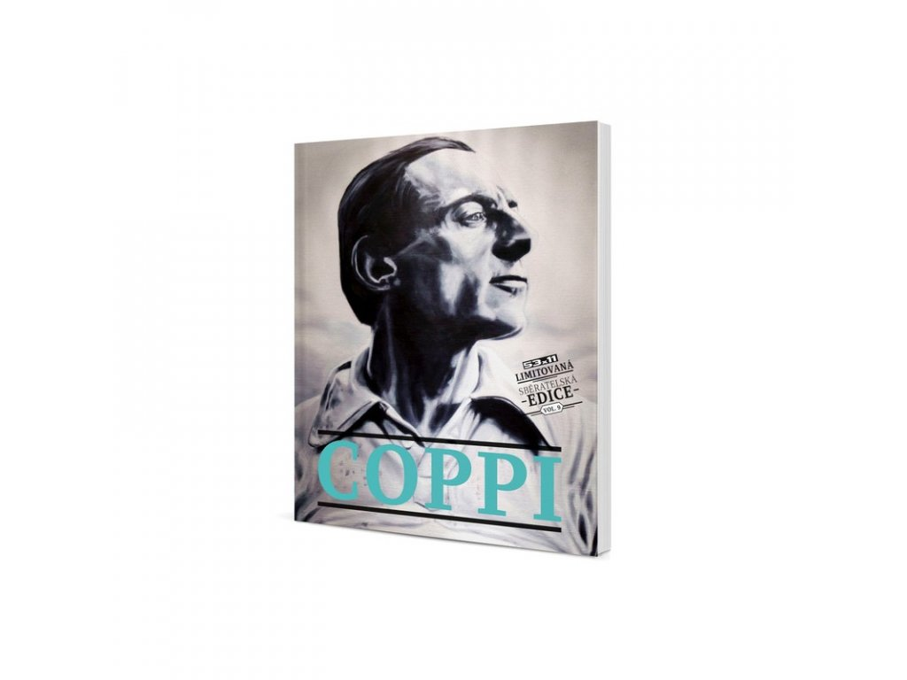 Kniha FAUSTO COPPI - limitovaná edice