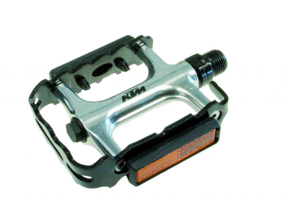 Pedály KTM MTB PRO (1 pár) Silver/black