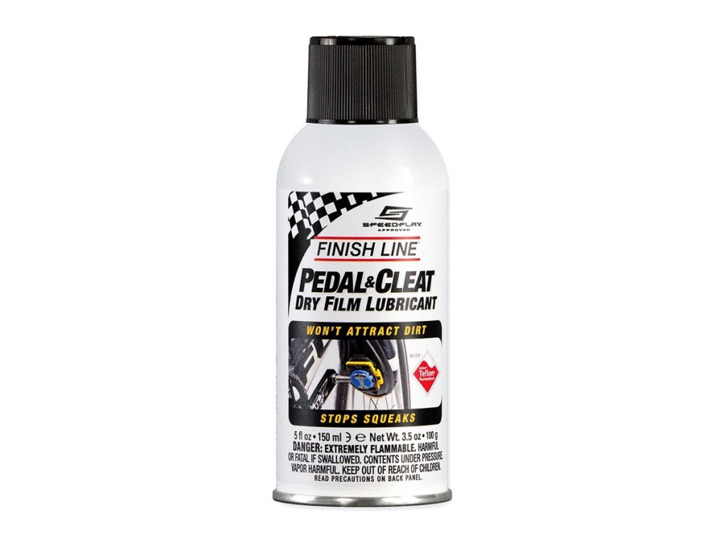 Sprej FINISH LINE Pedal and Cleat Lubricant 5oz/150ml
