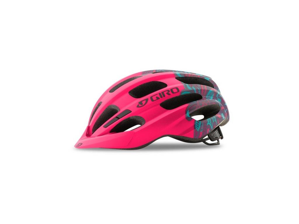 Dětská cyklistická helma GIRO Hale Mat Bright Pink