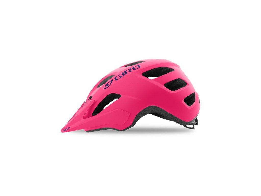 Dětská cyklistická helma GIRO Tremor Mat Bright Pink