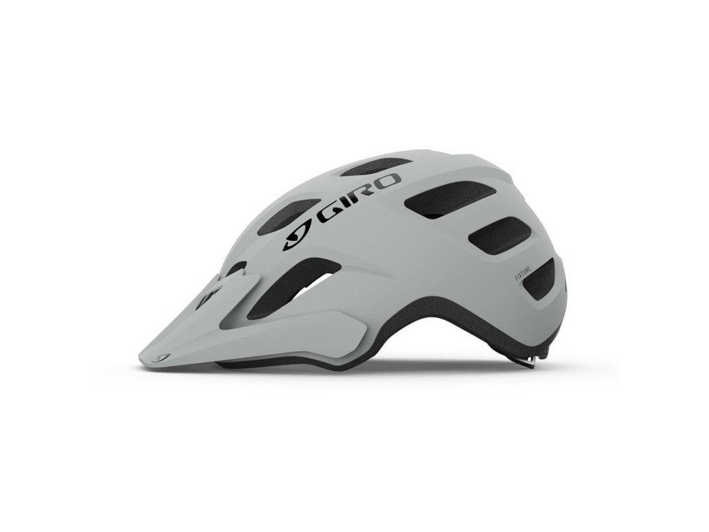 Cyklistická helma GIRO Fixture Mat Grey