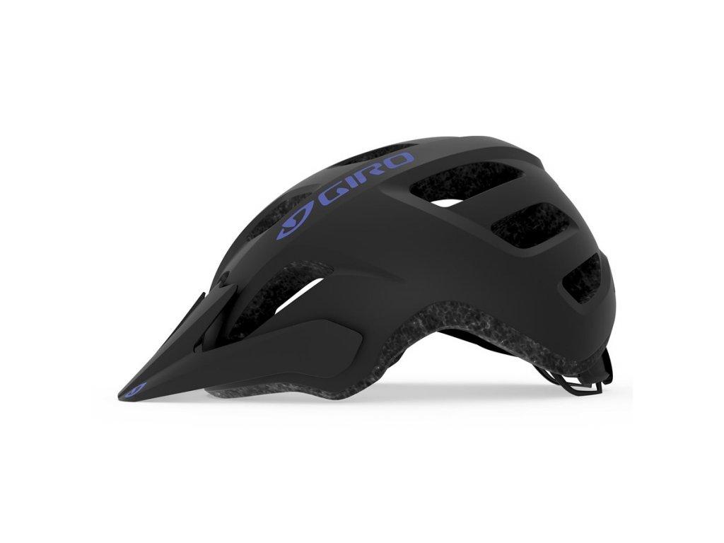 Dámská cyklistická helma GIRO Verce Mat Black/Electric Purple