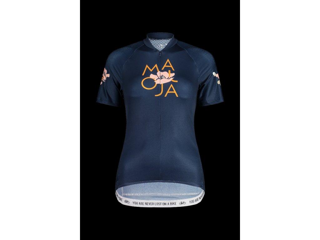 Dámský cyklistický dres  MALOJA ErvaM - tmavě modrá