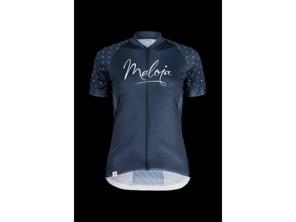 Dámský cyklistický dres MALOJA AgroviaM - tmavě modrá
