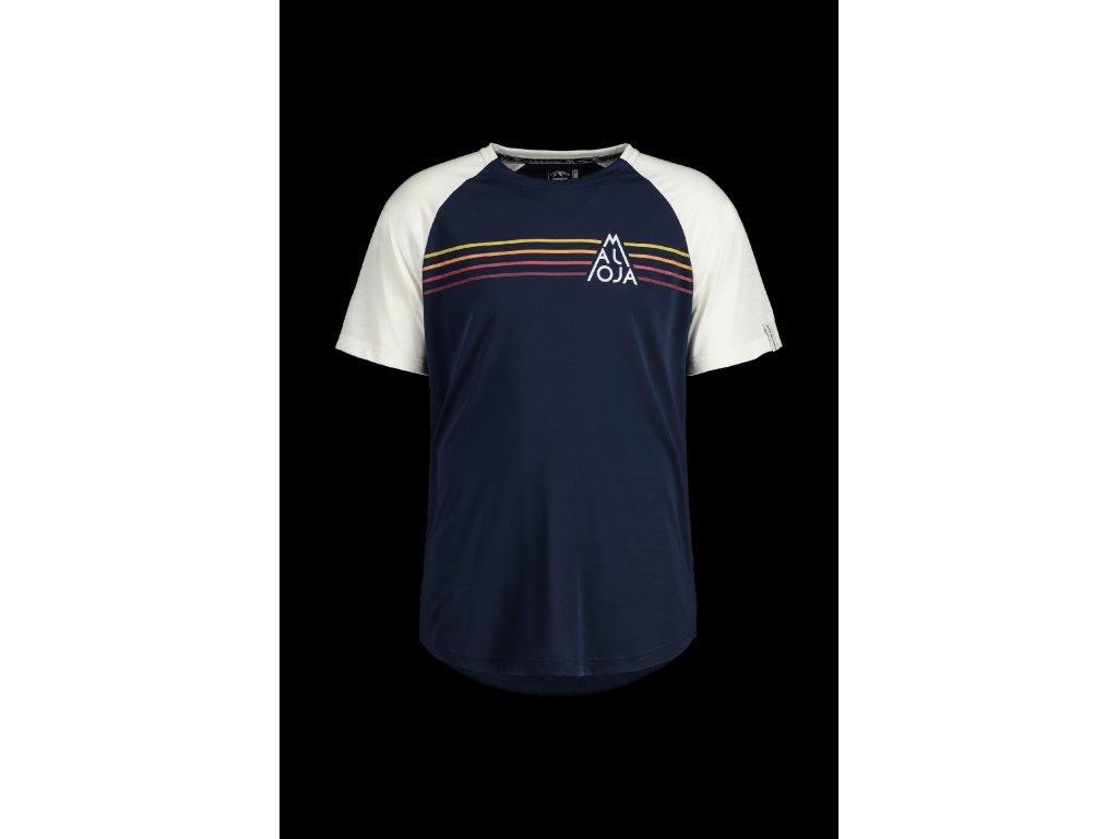 Pánské tričko MALOJA AlmenM - tmavě modrá