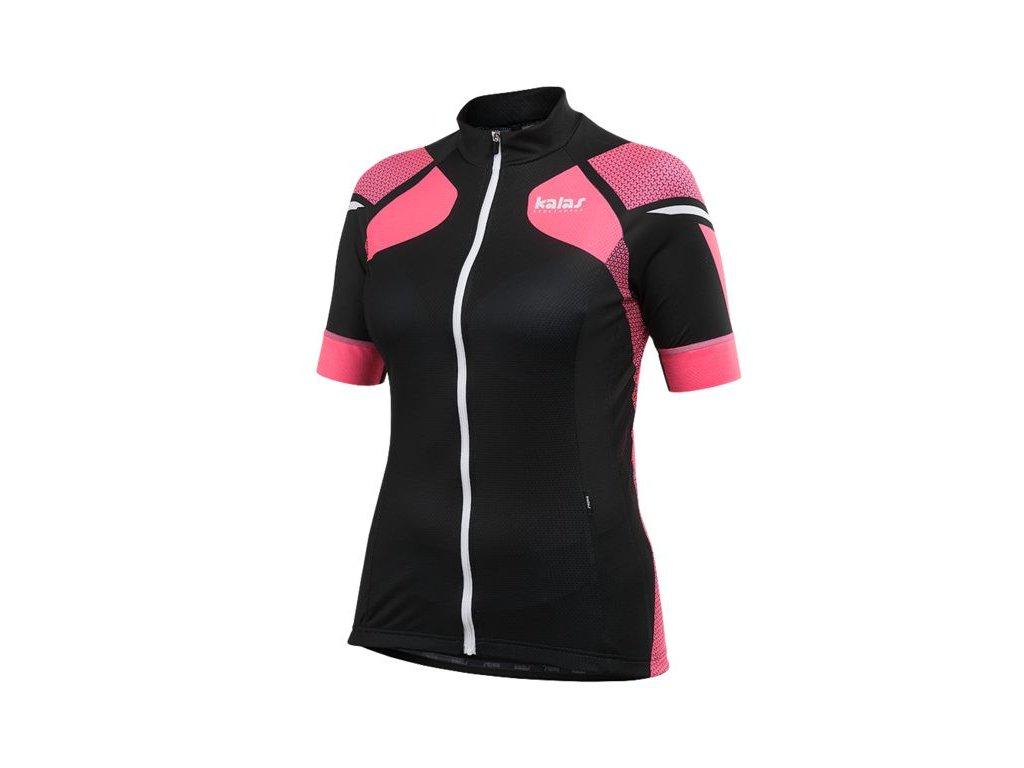 Dámský dres KALAS TITAN X8 - růžový/černý