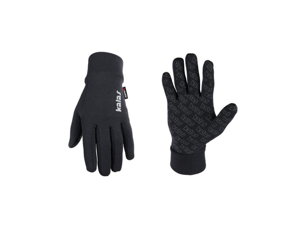 Zimní rukavice Kalas Polartec X6 - černé