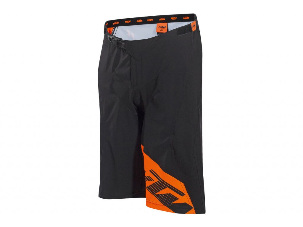 Kraťasy KTM FACTORY ENDURO Black/orange