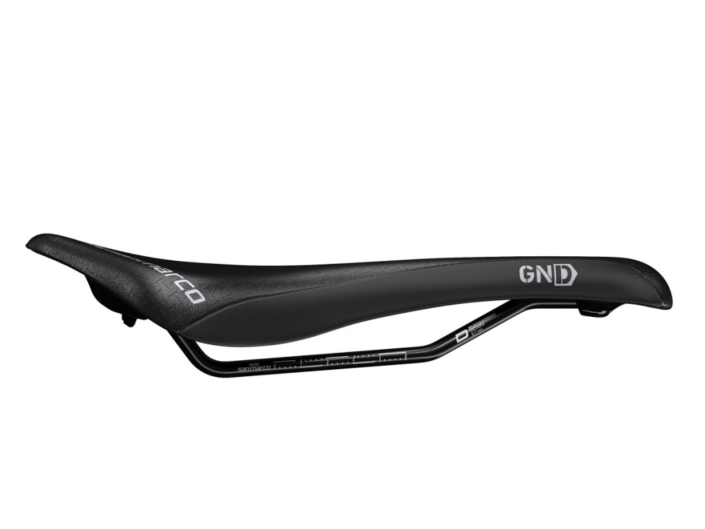 Sedlo GND Supercomfort Open-Fit Dynamic Wide (black/black)
