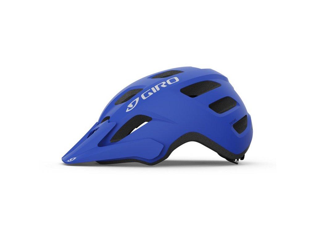 Cyklistická helma GIRO Fixture Mat Trim Blue