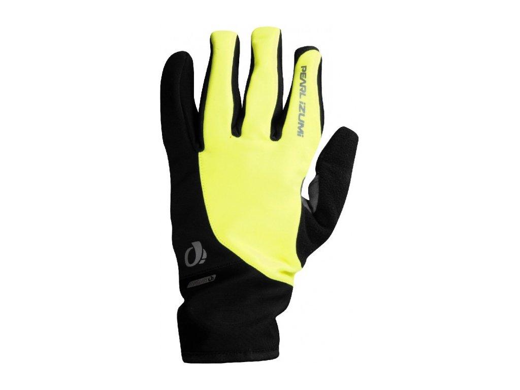 Pearl Izumi rukavice Select Softshelll, žlutá