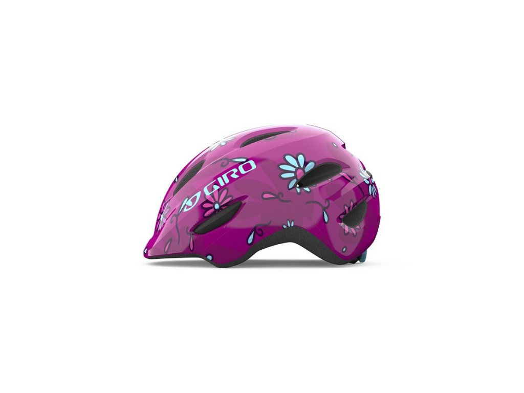 Dětská helma GIRO Scamp Pink Street Sugar Daisies