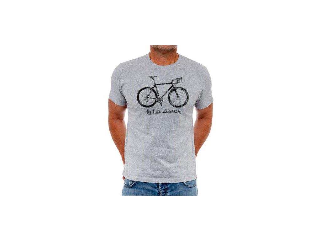 Triko Cycology Bike Whisperer - šedé