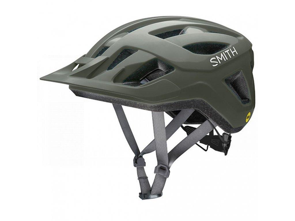 Cyklistická helma Smith Convoy MIPS - zelená