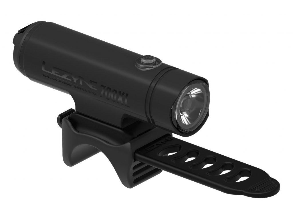 Lezyne přední světlo CLASSIC DRIVE 700XL Matte Black
