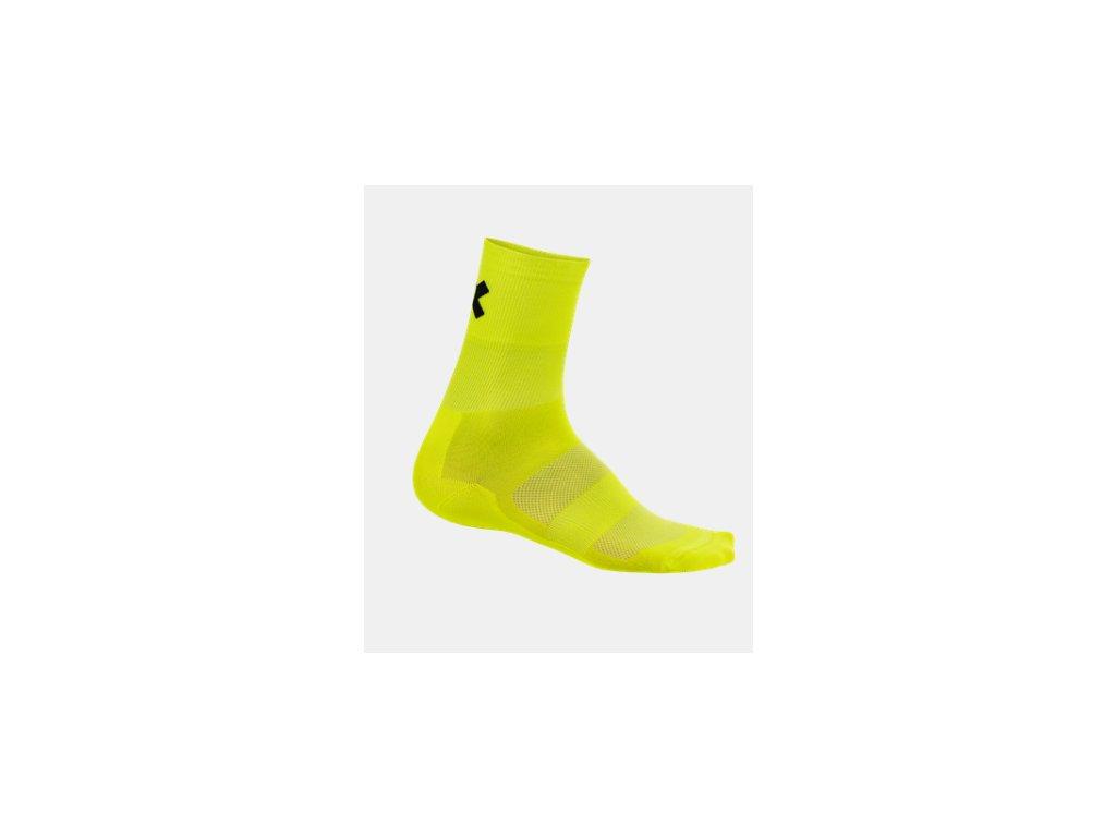 Vysoké ponožky Kalas RIDE ON Z - fluo