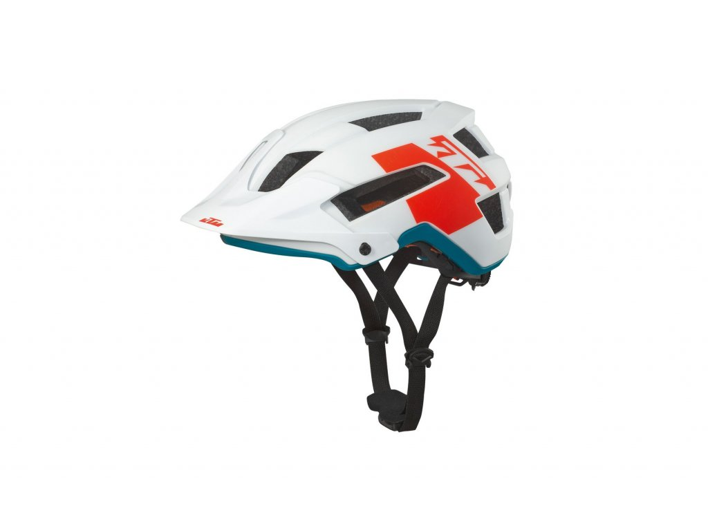 Helma KTM Factory Enduro II white/matt fire orange