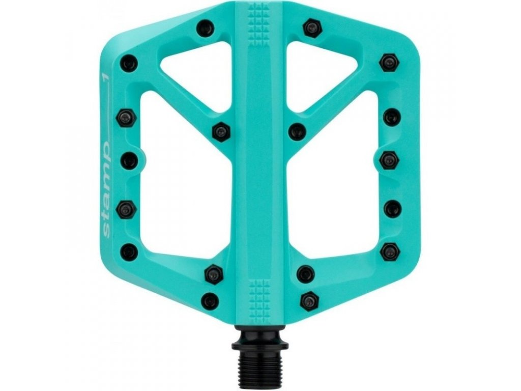 Pedály CRANKBROTHERS Stamp 1 Small Turquoise