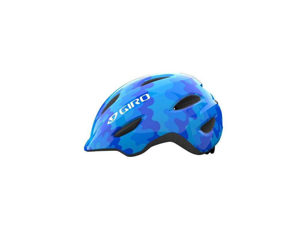Dětská helma GIRO Scamp Blue Splash