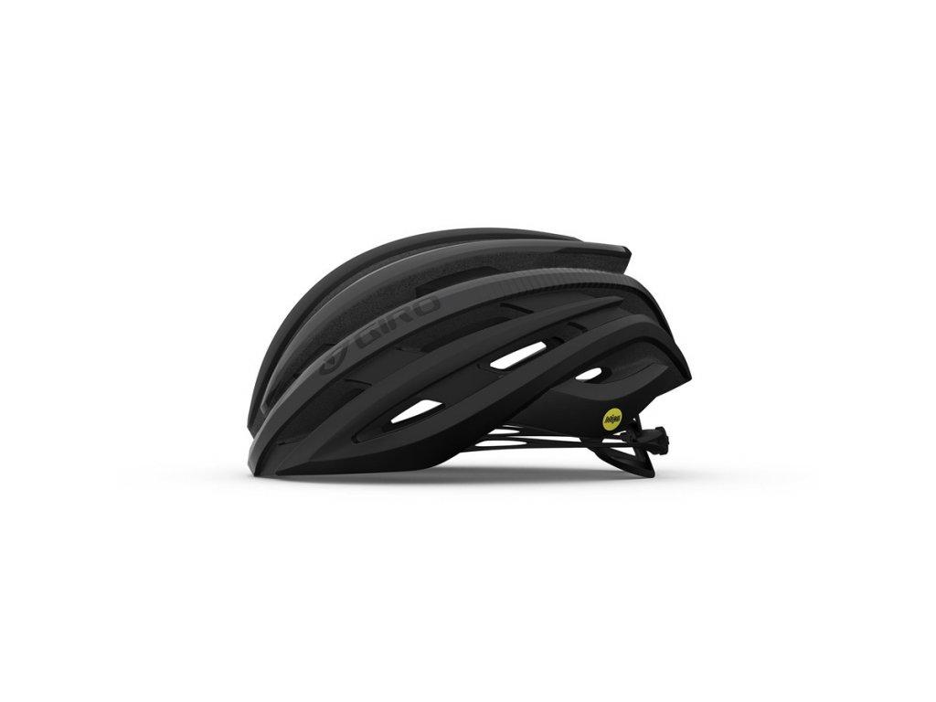 Cyklistická helma GIRO Cinder MIPS Mat Black/Charcoal