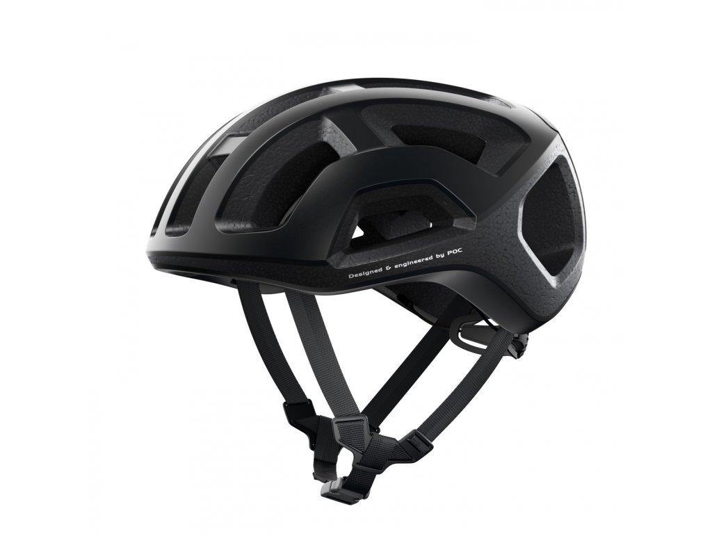 Cyklistická helma POC Ventral Lite Uranium Black Matt - L