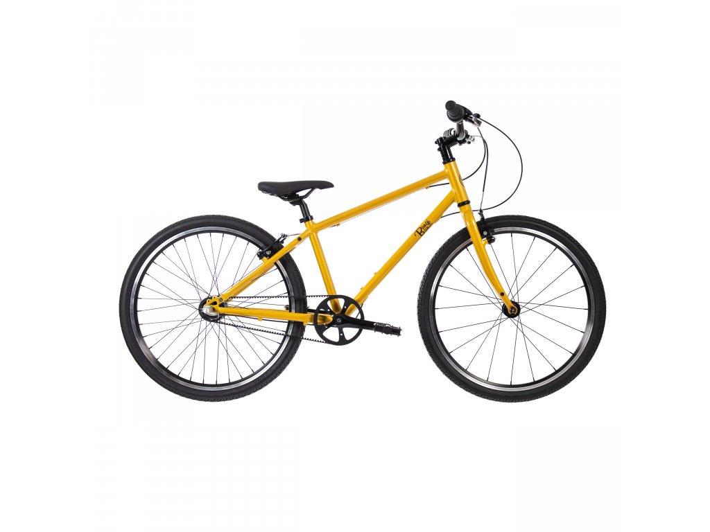 Dětské kolo Bungi Bungi Lite 24 Nexus 3 (8,7kg) - žlutá